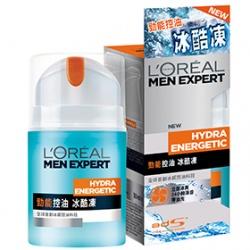 L`OREAL PARiS 巴黎萊雅 男仕臉部保養-勁能控油冰酷凍 Man Expert Quench Max