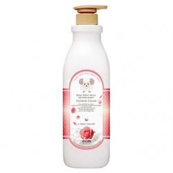 coni beauty 山羊奶系列-玫瑰山羊奶抗氧化沐浴乳 Rose Goat Milk Antioxidant Shower Cream