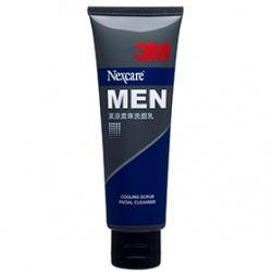 男仕臉部保養產品-MEN潔涼柔珠洗面乳