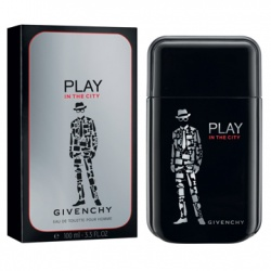 GIVENCHY 紀梵希 男性香氛-都會玩酷男性淡香水 PLAY IN THE CITY FOR HIM  EAU DE TOILETTE
