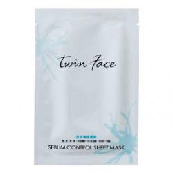 twin face 保養面膜-淨妍清透隱形雲膜 Sebum Control Sheet Mask