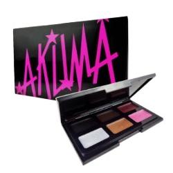 AKUMA 彩妝系列-閃耀放肆持久防水眼彩盤