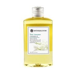bath&bloom 泰國茉莉名媛系列-泰國茉莉SPA純天然植物按摩油 Thai Jasmine massage oil