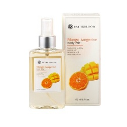 bath&bloom 女性香氛-芒果柑橘美體淡香水 Mango Tangerine body mist