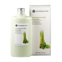 bath&bloom 檸檬草薄荷舒壓系列-檸檬草薄荷甦醒美體乳 Lemongrass Mint body lotion