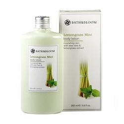 檸檬草薄荷甦醒美體乳 Lemongrass Mint body lotion