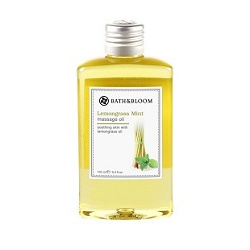 bath&bloom 檸檬草薄荷舒壓系列-檸檬草薄荷純天然植物按摩油 Lemongrass Mint massage oil