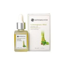 bath&bloom 檸檬草薄荷舒壓系列-檸檬草薄荷香氛油 Lemongrass Mint aroma oil