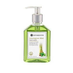 bath&bloom 檸檬草薄荷舒壓系列-檸檬草薄荷香氛潔手乳 Lemongrass Mint hand wash