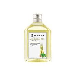 bath&bloom 檸檬草薄荷舒壓系列-檸檬草薄荷純天然植物泡澡精油 Lemongrass Mint bath milk