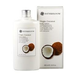 bath&bloom 特級椰油修護系列-冷萃椰油保濕滋潤美體乳 Virgin Coconut body lotion