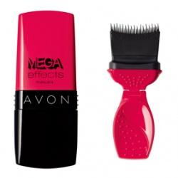 Avon 雅芳 色彩系列-粉紅心機防水睫毛膏