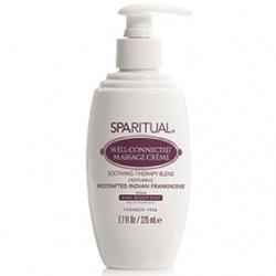 SPARITUAL  身體保養-印度乳香深層滋養霜 Well-Connected Massage Creme