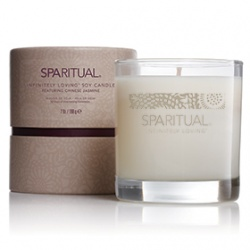 SPARITUAL 室內‧衣物香氛-茉莉精油蠟燭 INFINITELY LOVING R SOY CANDLE