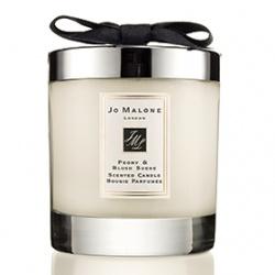 室內‧衣物香氛產品-牡丹與胭紅麂絨香氛工藝蠟燭 Peony and Blush Suede Home Candle