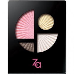 Za  眼部彩妝-金屬光寶石眼影盒