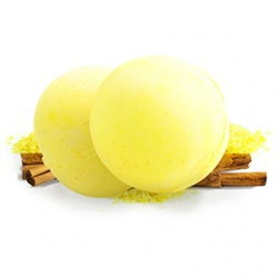 黃蘋果 汽泡浴球 FIZZBANGER