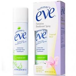 清新粉霧(香氛型) Feminine Deodorant Spray Tropical Rain