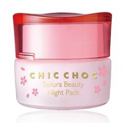 CHIC CHOC 奇可俏可 保養面膜-晚安舒壓面膜 Sakura Beauty Night Pack