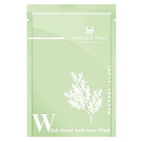 Annie`s Way 保養面膜-金縷梅收斂隱形面膜 Witch Hazel Anti Acne Invisible Silk Mask