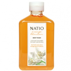 Natio 香橙花氛芳身體保養系列-香橙花氛芳保濕沐浴乳