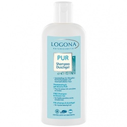 LOGONA 諾格那 沐浴清潔-溫和舒敏洗髮沐浴乳 FREE Shampoo & Shower Gel