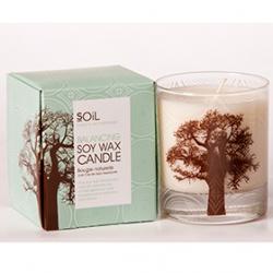 SOiL 所倚 室內‧衣物香氛-有機猴麵包樹平衡香氛蠟燭