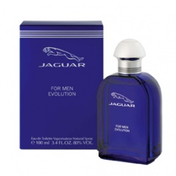 JAGUAR 男性香水-藍色經典男性香水 JAGUAR EVOLUTION for Men