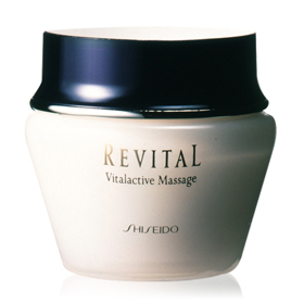 SHISEIDO資生堂-專櫃 莉薇特麗系列-莉薇特麗醒膚按摩霜 Revital Vitalactive Massage