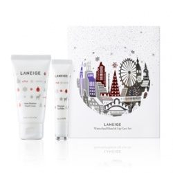 LANEIGE 蘭芝 特別護理-魔幻水晶修護組  Winterland Hand & Lip Care Set