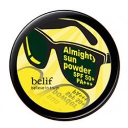 belif 蜜粉-豔陽小墨鏡防曬蜜粉SPF50/PA+++ Almighty Sun Powder