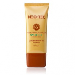 UV隔離防曬霜SPF30★★★(膚色潤澤型) Face Sunprotection Cream SPF30★★★(Natural Beige)