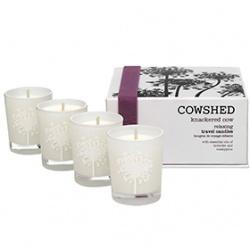 COWSHED  Knackered Cow累累牛放鬆心情系列-累累牛舒緩旅行香氛燭
