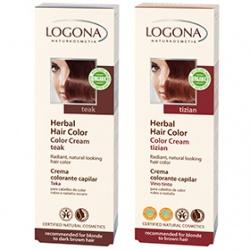 LOGONA 諾格那 染髮‧燙髮-植萃增色霜 Herbal Hair Color Cream