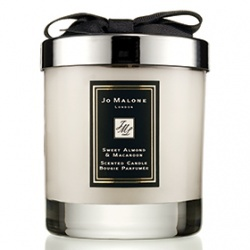 甜杏仁馬卡龍香氛工藝蠟燭 Lime Basil & Mandarin Home Candle