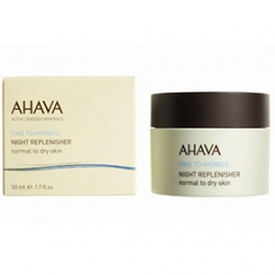 AHAVA 愛海珍泥 礦水瓷系列-礦水瓷夜間修護霜 Night Replenisher. Normal to dry skin