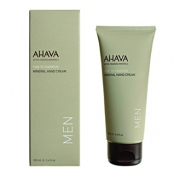 AHAVA 愛海珍泥 手部保養-礦力G4護手霜 Mineral Hand Cream Men