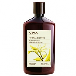 愛海花妍海浴乳(金銀花/薰衣草) Mineral Botanic Cream Wash - Honeysuckle & Lavender