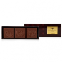 THANN 涵庭  限量系列-巧克力磚香氛皂(牛奶巧克力)