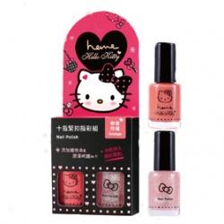 heme  Heme x Hello Kitty系列-十指緊扣指彩組 Speed Color Nail Polish