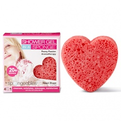Spongeables 思邦綺香氛泡泡 熱情四合一-激情牡丹 Spongeables Hearts - Peony Passion (Red)