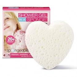 Spongeables 思邦綺香氛泡泡 熱情四合一-天使茉莉花 Spongeables Hearts - Sweet Jasmine (White)