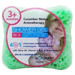 Spongeables 思邦綺香氛泡泡 身體系列-甜蜜香瓜 Spongeables Body Bar-Cucumber Melon