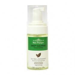 Skin Pamper 美肌寵愛 洗顏系列-茶樹薄荷深層洗顏慕斯 Anti-Acne Cleansing Foam