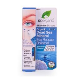 dr. organic 丹霓珂 奧圖玫瑰系列-死海礦物睛采滾珠筆