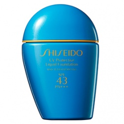 SHISEIDO 資生堂-專櫃 粉底液-新艷陽‧夏防晒粉蜜SPF43/PA+++ UV Protective Compact Liquid Foundation