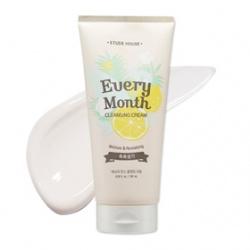 ETUDE HOUSE  臉部卸妝-洗新隔月~30天季節保養卸妝霜(活力保濕:植物水果)