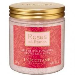 L'OCCITANE 歐舒丹 玫瑰皇后系列-玫瑰皇后香氛浴鹽