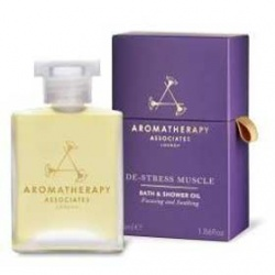 AROMATHERAPY ASSOCIATES DE-STREE 系列-舒爽怡神沐浴油   DE-STRESS MIND BATH & SHOWER OIL