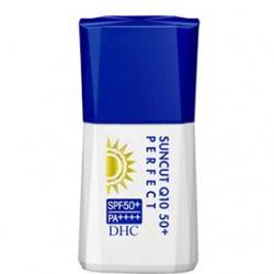 DHC  防曬‧隔離-金靚白防曬乳SPF50+/PA++++ DHC Suncut Q10 50+ Perfect SPF50+ PA++++